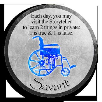 Blood on the Clocktower: savant_token.png